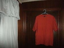 Timberland t-shirt short sleeve STONE WASH ORANGE NO PRINT PLAIN size LARGE NEW