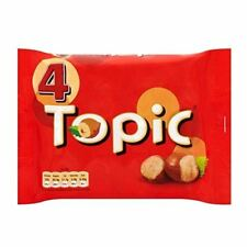 Topic Schokolade Bars (4 x 47g) Britisch GB