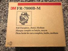 3M FR-7800B-M Full Face Respirator, NEW IN BOX