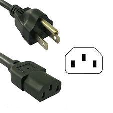 HQRP 10ft AC Power Cord for DYNEX DX-32L150A11 DX-37L150A11 DX-40L130A11 TV