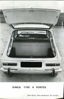 Simca 1100 4 door Saloon original official press photo