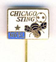 old CHICAGO STING pin BADGE from 1970´s NASL soccer USA US