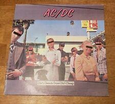 AC/DC - Dirty Deeds Done Dirt Cheap LP Atlantic SD 16033, original 1976 Vinyl.