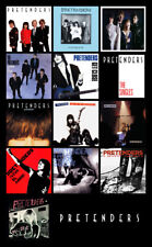 "THE PRETENDERS album discography magnet (4.5"" x 3.5"")"