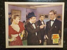 CHARLIE CHAN ON BROADWAY MOVIE ORIGINAL 1937 LOBBY TITLE CARD WARNER OLAND