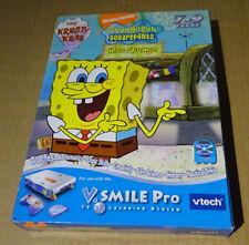 VTECH VSMILE PRO-Bob l'éponge-Learning Game Brand New