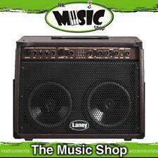 "New Laney LA65D 65w Acoustic Guitar Amplifier - 2 x 8"" Speakers, Mic In - Amp"