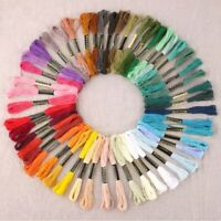 50pcs/lot DMC Cross Stitch Cotton Embroidery Thread Floss Sewing Skeins Craft