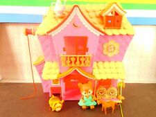 Lalaloopsy  Mini Dolls  House with Toys