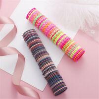 90Teile paket Elastische Baby Mädchen Handtuch Haarseile Kinder Haarbänder`4