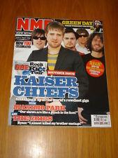 NME 2005 OCT 22 KAISER CHIEFS MAXIMO PARK CRIBS STONES