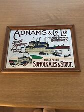 More details for adnams brewery vintage advertisement mirror