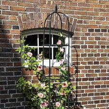 filigranes Rankgitter Spalier in 2 Größen Für Rosen Clematis Rankpflanzen