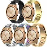 Für Samsung Galaxy Watch R815/Active R500 20mm Edelstahl Armband Uhrenarmbänder