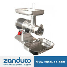 Omcan Commercial #22 Aluminium Electric Meat Grinder with 1.5 Hp Mg-It-0022-C