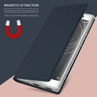 For Sony Xperia XA2 Ultra Magnetic Flip Stand Card Wallet Leather Case Cover