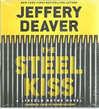 The Steel Kiss SEALED Jeffrey Deaver AUDIO Unabridged NEW CDs Lincoln Rhyme #12