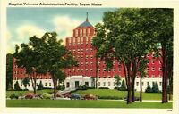 Vintage Postcard - Hospital Veterans Administration Facility Togus Maine #1836