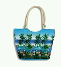 Star Harbor Brand Tropical Beach Scene Beach Bag/Tote NWT Retail $24.99