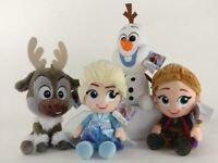 Peluche Frozen 2 originali Disney 2019 segreto di Arendelle Anna Elsa Olaf Sven