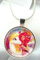 MIA AND ME UNICORN SILVER NECKLACE 16 INCH 2-4y FAIRY PRINCESS GIFT BOX BIRTHDAY
