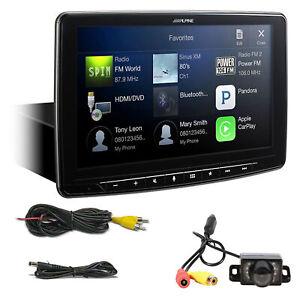 "ALPINE iLX-F309 9"" Car Digital Media Bluetooth Receiver w/ CarPlay/HDMI+Camera"