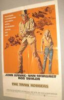 Filmplakat,PLAKAT,THE TRAIN ROBBERS, JOHN WAYNE,ANN MARGRET-38