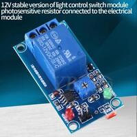 12V DC Photoresistor Car LDR Relay Module Detect Sensor Light Controller Switch