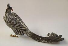 Messing Keramik Figur Tafelaufsatz Fasan neu 99937866-dss