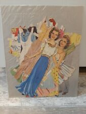 Vintage Judy Garland Cut-out Paper Dolls-1941