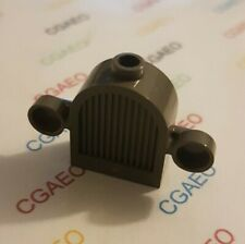 1 x  Lego 30147 Vehicle, Grille 1 x 2 x 2 Round Top with Lights DARK GRAY