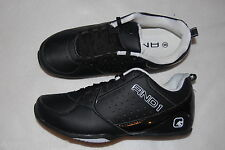 Mens Athletic Shoes BLACK Comfort Padded Sock AND1 FURY LOW Non Marking 8