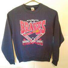 Vintage 1991 Atlanta Braves Sweater | National League Champions | Size XL...