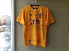 Everton 2003/2004 Signed Away football shirt Puma Soccer Jersey OLD England