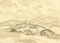 Vernon Wethered NEAC, Glengariff, Ireland – Early 20th-century watercolour