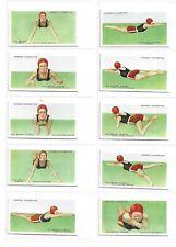 OGDENS - How to Swim - 1935 - Set of 50 - Excellent.