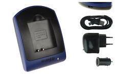 Akku-Ladegerät (USB) D-Li92 DLi92 für Pentax Optio I-10, RX18, RZ10, RZ18, WG-1