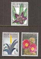 BELGIUM # 619-21 MNH INTERNATIONAL FLOWER EXHIBITION