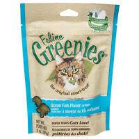 Feline Greenies for Cat - 2.5 oz to 3 oz - 5 Flavors - Reduce tartar & plaque