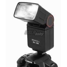 SEAGULL SG-300 Universal Hot Shoe Flash Light Speedlite For Canon Nikon Camera
