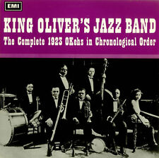 "King Oliver's Jazz Band Complete 1923 OKehs Chronological UK 12""33rpm vinyl (ex)"