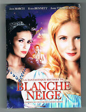 LA FANTASTIQUE HISTOIRE DE BLANCHE NEIGE - JANE MARCH - DVD - 2012 - NEUF NEW