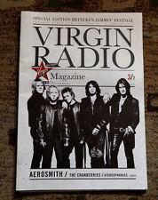 Aerosmith Heineken Jammin Festival programme magazine Italy 2010 Virgin Radio