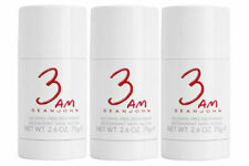 3 AM for Men by Sean John Alcohol Free Deodorant Stick 2.6 oz - Pack of 3