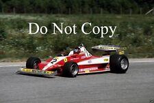 Gilles Villeneuve Ferrari 312 T3 Swedish Grand Prix 1978 Photograph 2