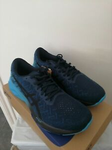 UK 8.5 Asics Dynablast Road Running Shoes French Blue US 9.5 EU 43.5