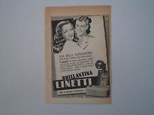 advertising Pubblicità 1949 BRILLANTINA LINETTI