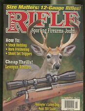 RIFLE MAGAZINE NOVEMBER 2003 SIZE MATTERS: 12-GAUGE RIFLES MODEL 700 GRADE