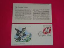 1977 WWF The Egyptian Vulture Bird Romania Official FDC Cover