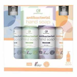 Set 4, Greenerways Hand Soap Lavender, Citrus, Mint & Unscented 16 FL each